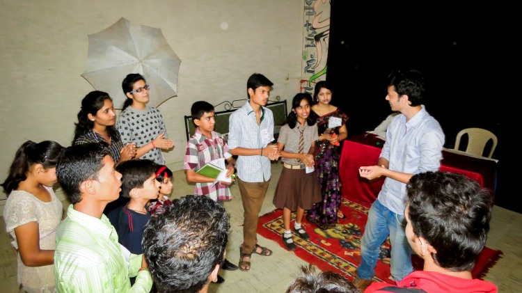 Amir Hashmi Workshop at Dhamtari (2)
