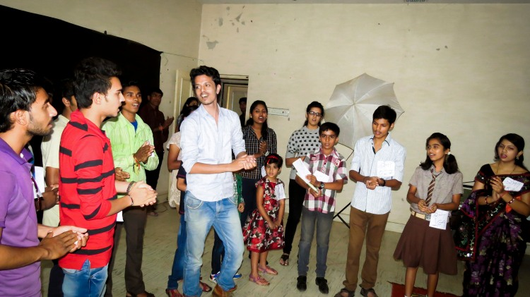 Amir Hashmi Workshop at Dhamtari