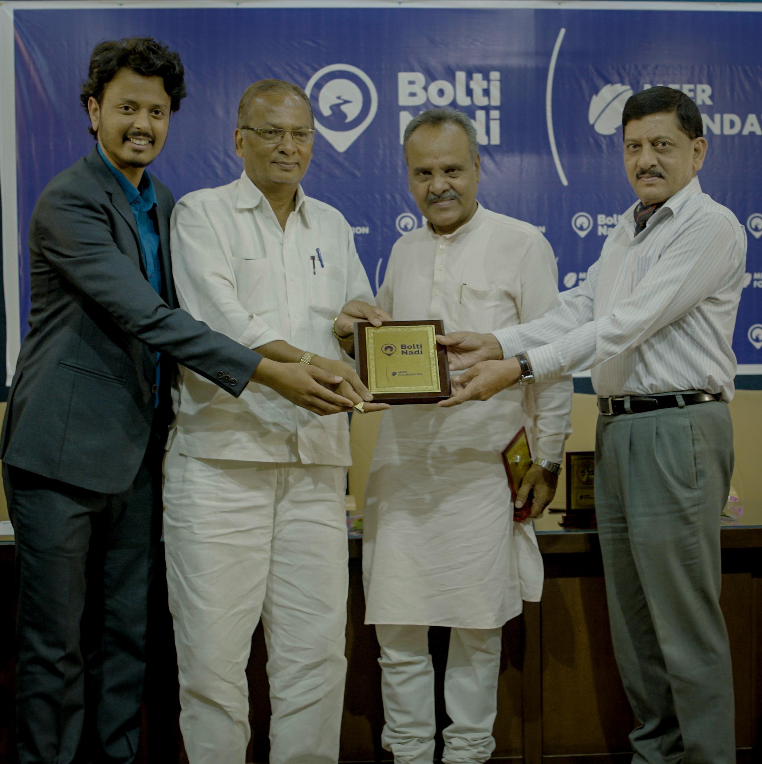 Meer Foundation's Bolti Nadi Conclave 2019 Amir Hashmi Laxminarayan Lahoti