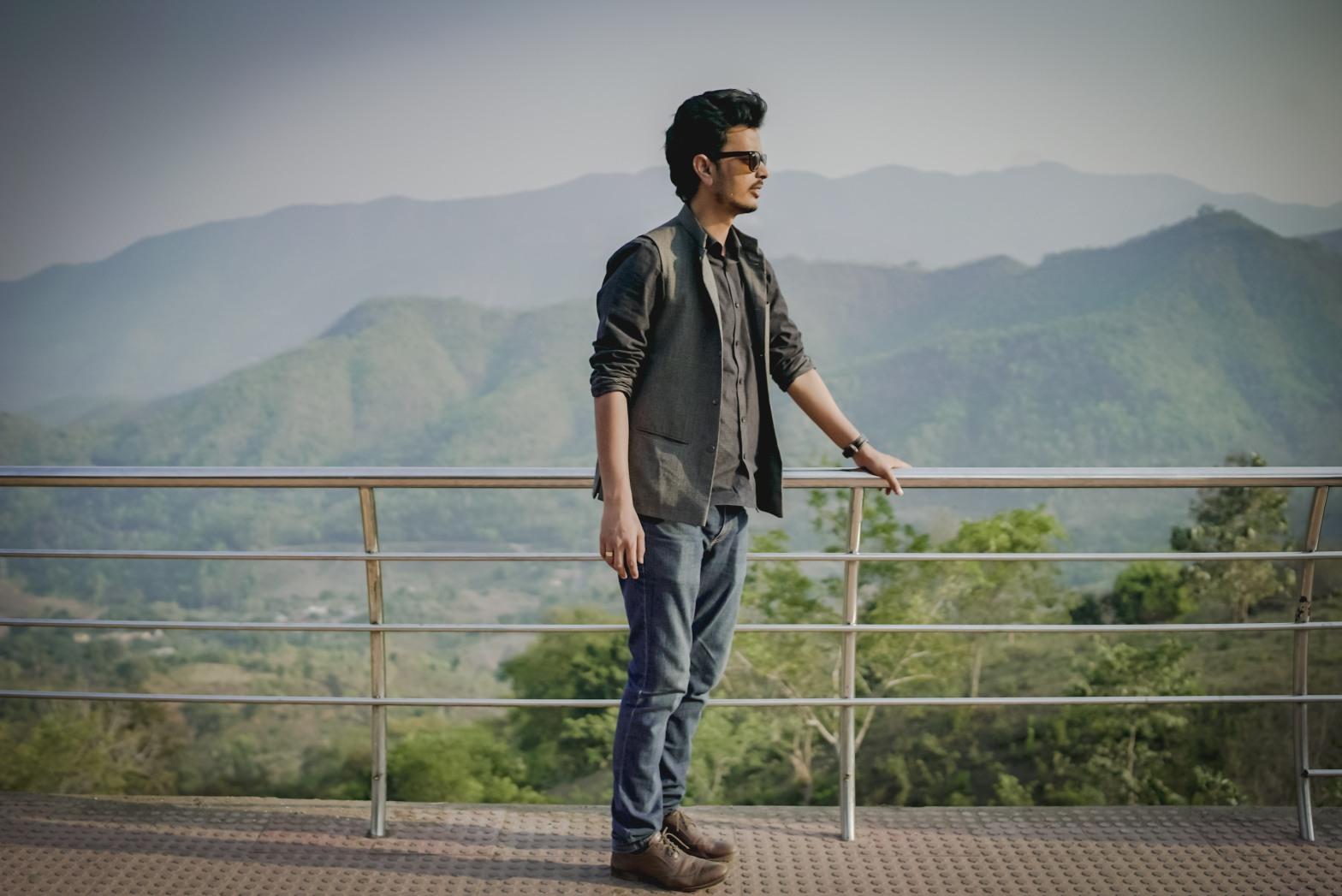 Amir Hashmi in Vizag Vlog